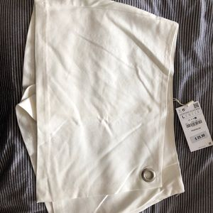 Zara white mini skort- brand new with tags